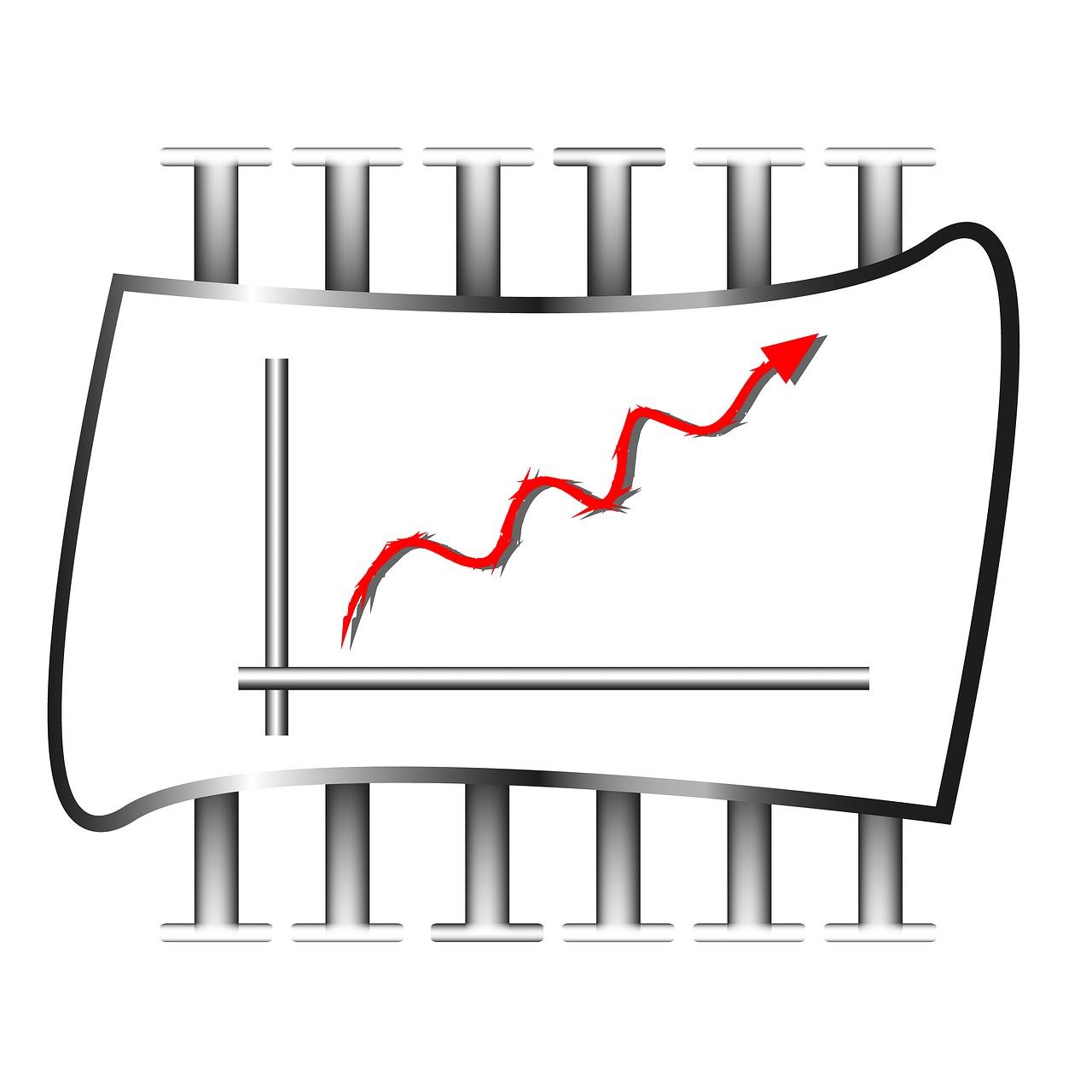 statistics, graphic, business